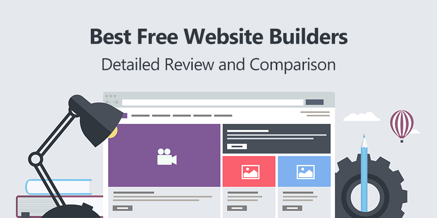 What Are The Best Free Website Builders For Different Types Of Sites?