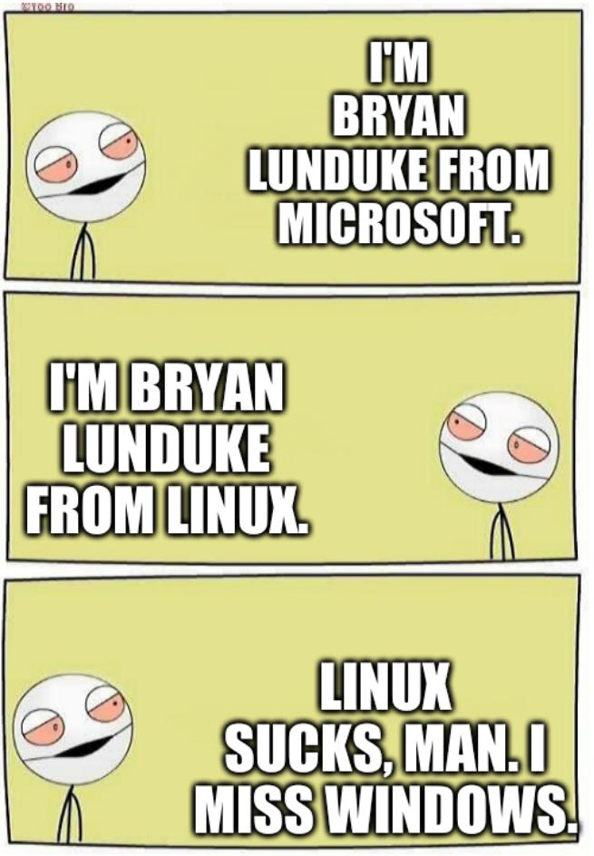 Bryan Lunduke is Still 100% Trolling With His Facts-Free Provocation 'Masterpiece' Called 'Linux Sucks'
