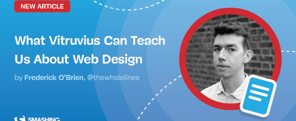 What Vitruvius Can Teach Us About Web Design